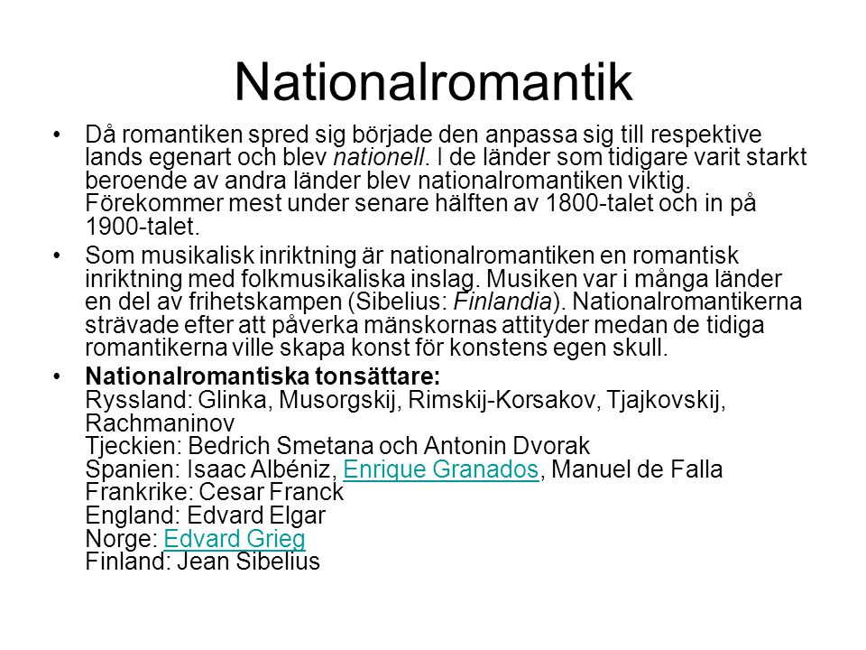 Nationalromantik