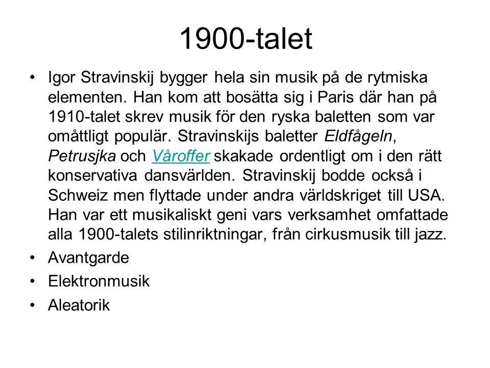 1900-talet