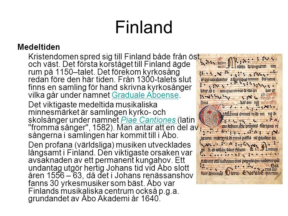 Finland Medeltiden.