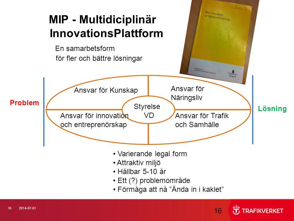 InnovationsPlattform En samarbetsform
