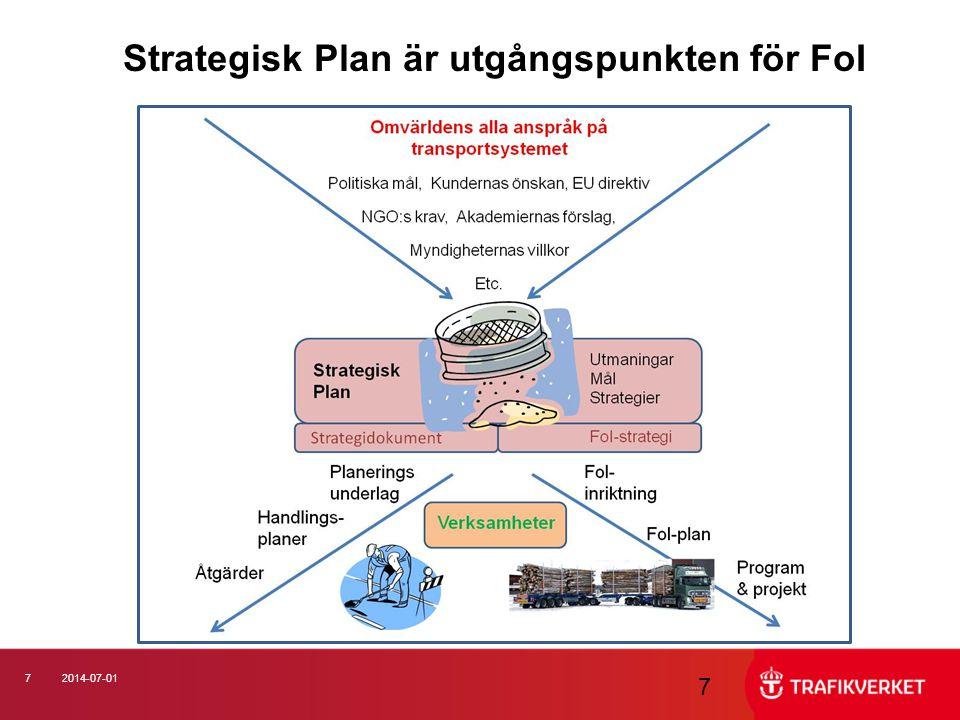 Strategisk Plan är utgångspunkten för FoI