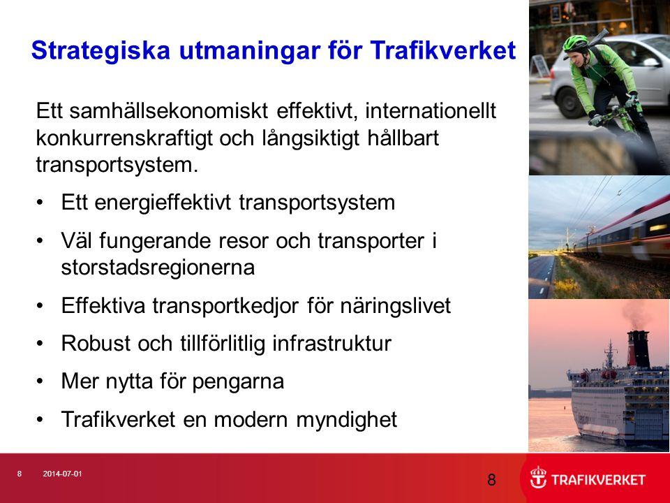 Strategiska utmaningar för Trafikverket