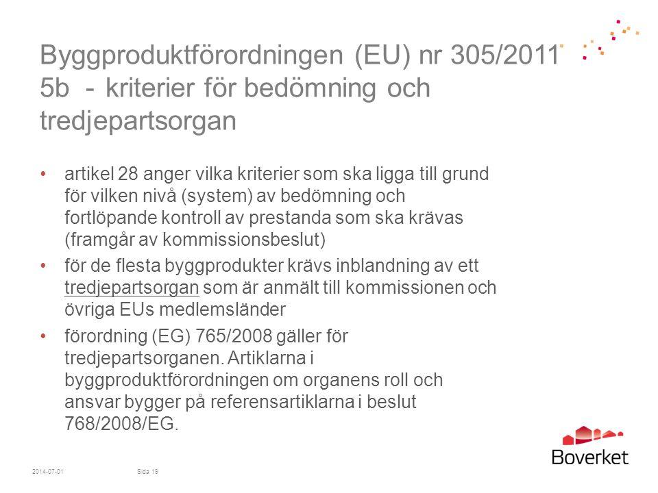 Byggproduktförordningen (EU) nr 305/2011 5b -