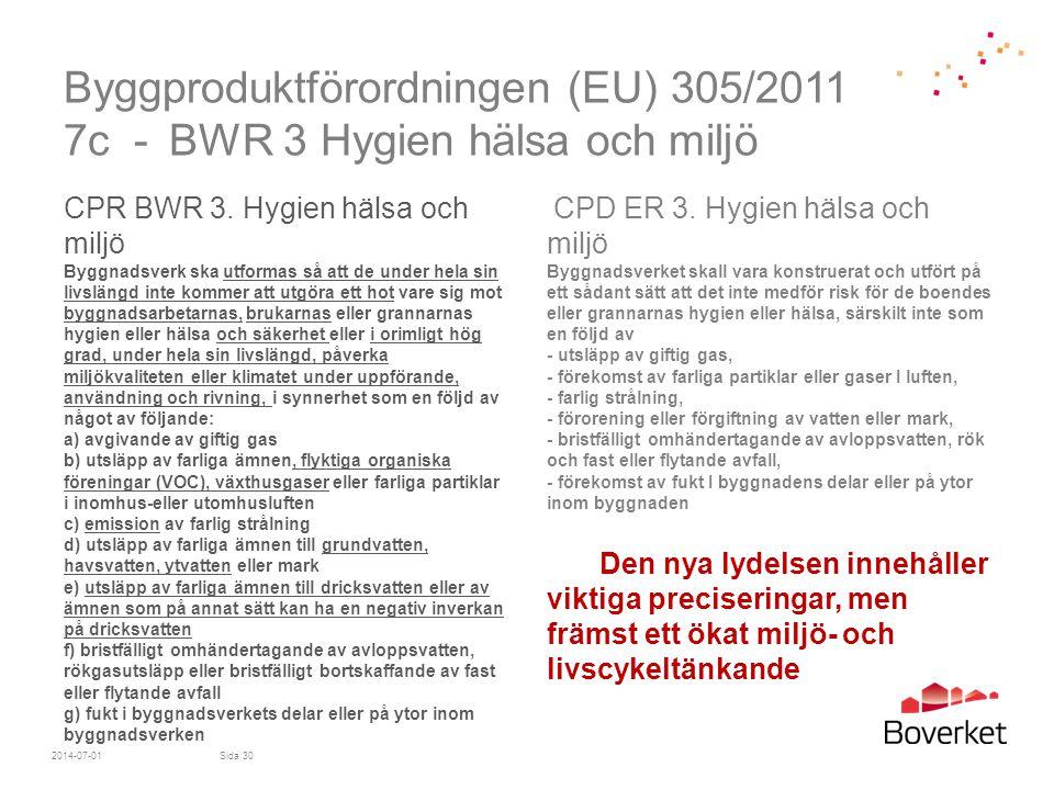 Byggproduktförordningen (EU) 305/2011 7c -