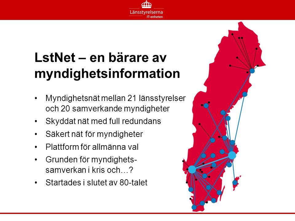 LstNet – en bärare av myndighetsinformation