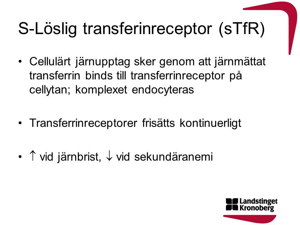 S-Löslig transferinreceptor (sTfR)