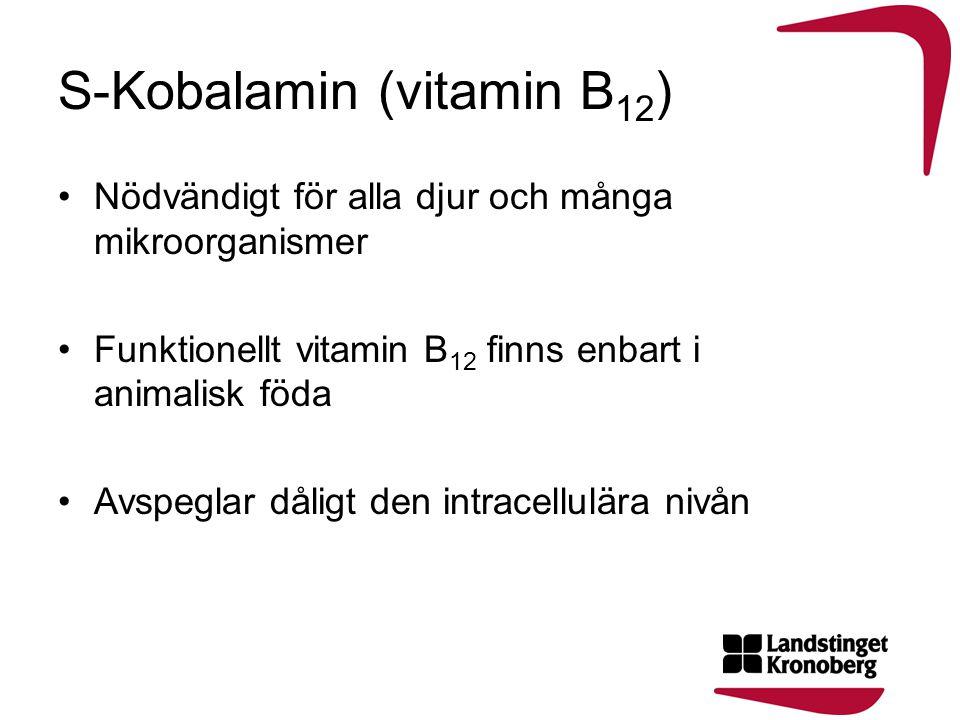 S-Kobalamin (vitamin B12)