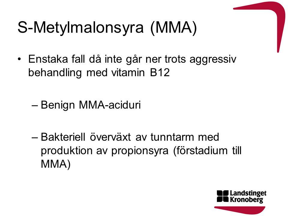 S-Metylmalonsyra (MMA)