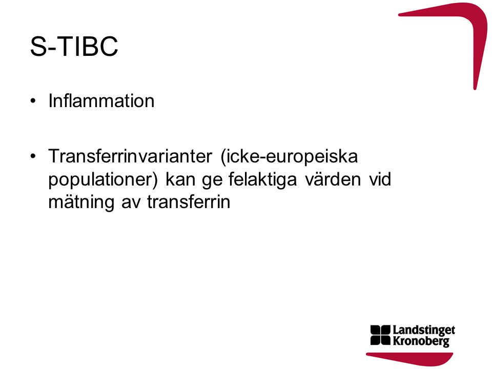 S-TIBC Inflammation.