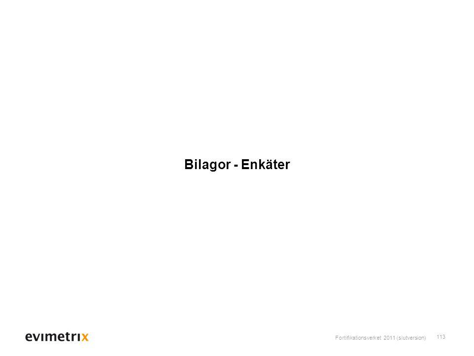 Bilagor - Enkäter