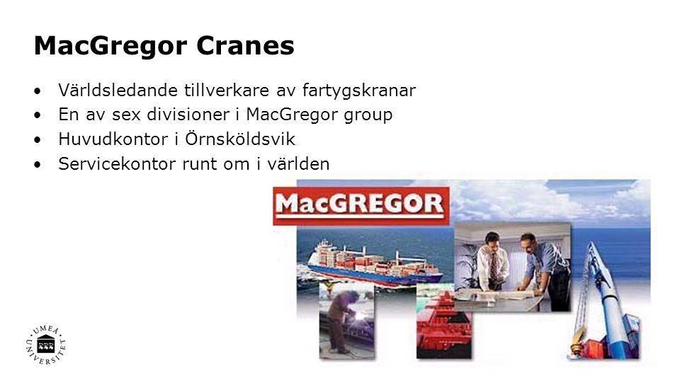 MacGregor Cranes Världsledande tillverkare av fartygskranar