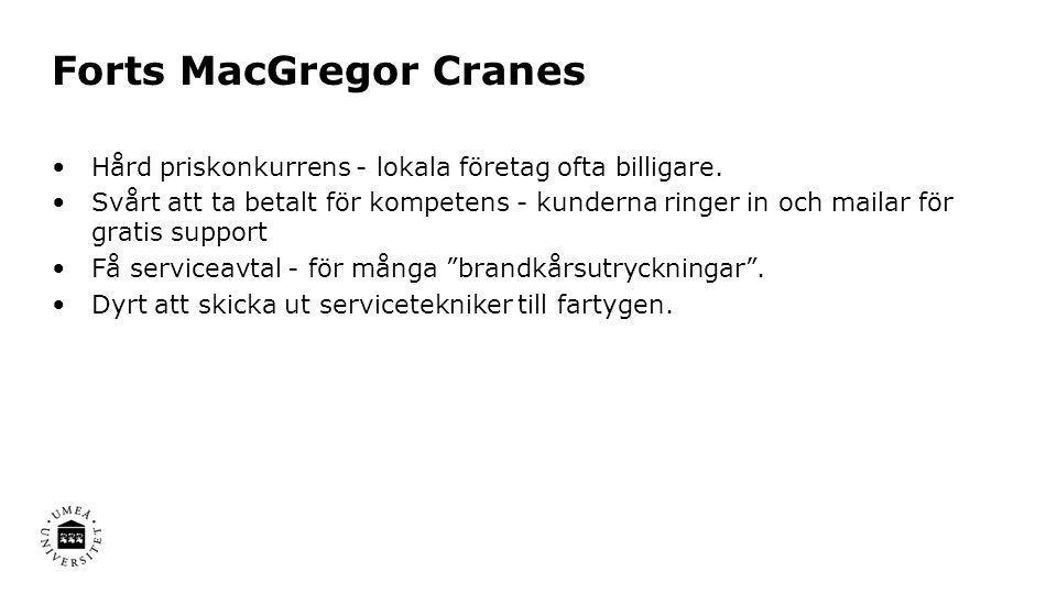 Forts MacGregor Cranes