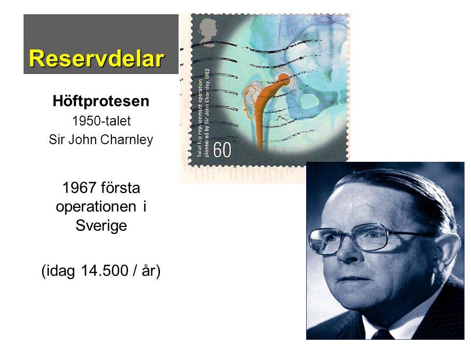 1967 första operationen i Sverige