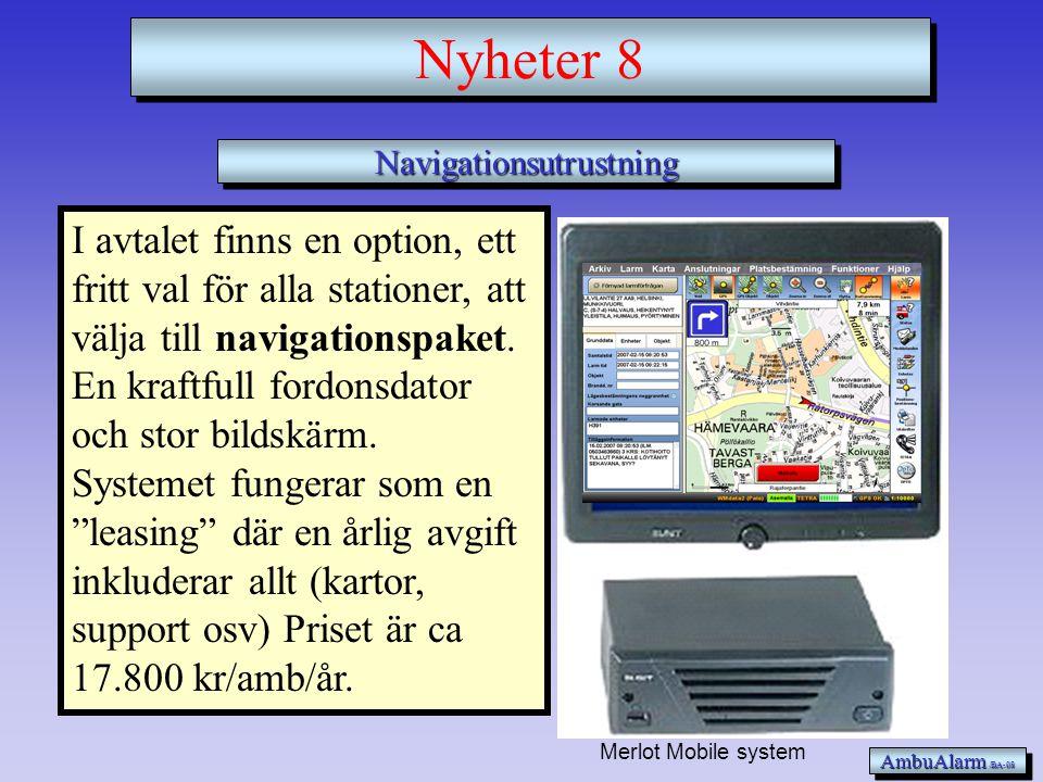 Navigationsutrustning