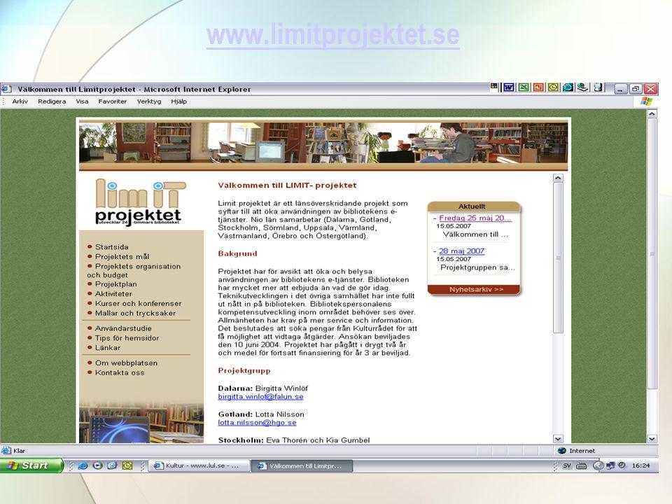 www.limitprojektet.se