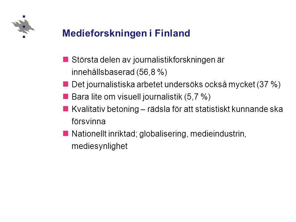 Medieforskningen i Finland