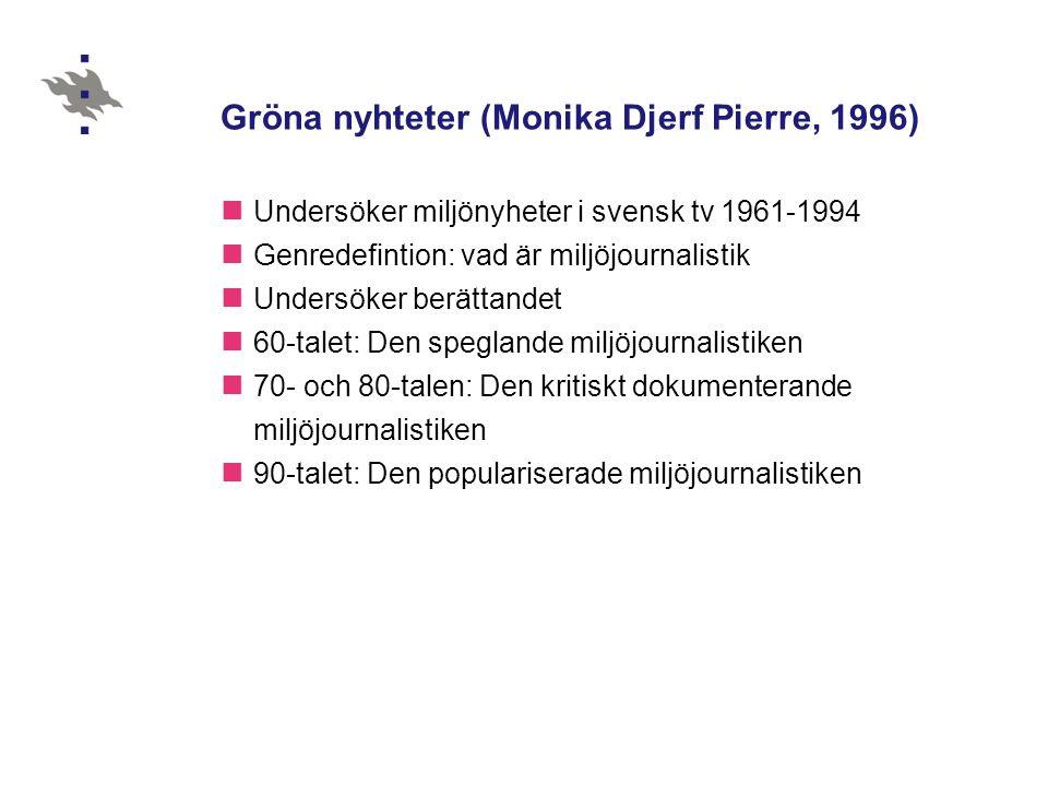 Gröna nyhteter (Monika Djerf Pierre, 1996)