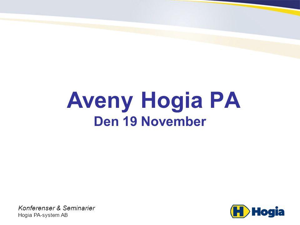 Aveny Hogia PA Den 19 November