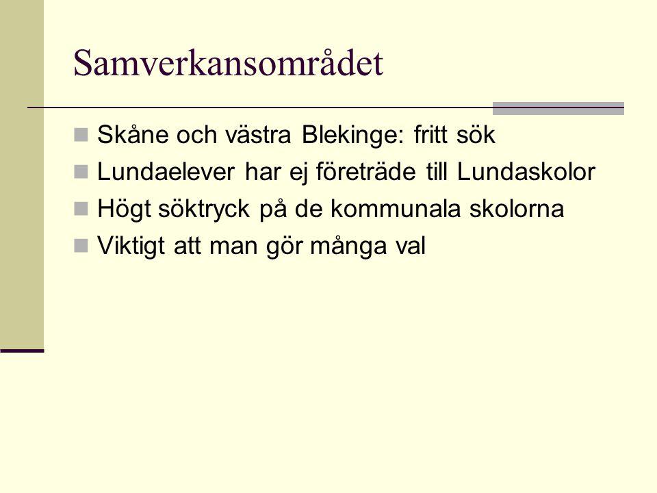 Samverkansområdet Skåne och västra Blekinge: fritt sök