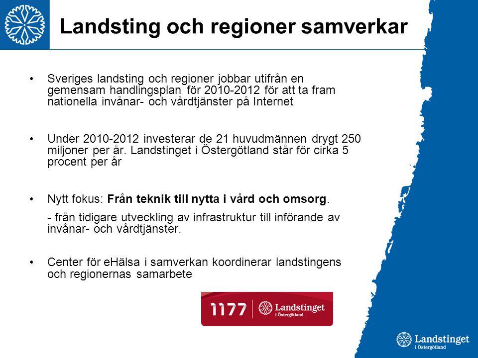 Landsting och regioner samverkar