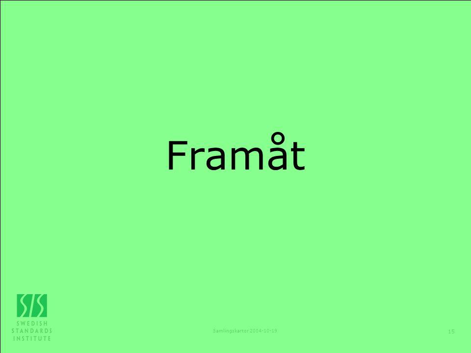 Framåt Samlingskartor 2004-10-19