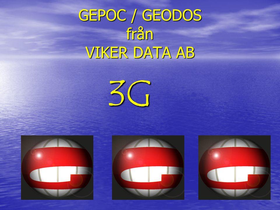 GEPOC / GEODOS från VIKER DATA AB
