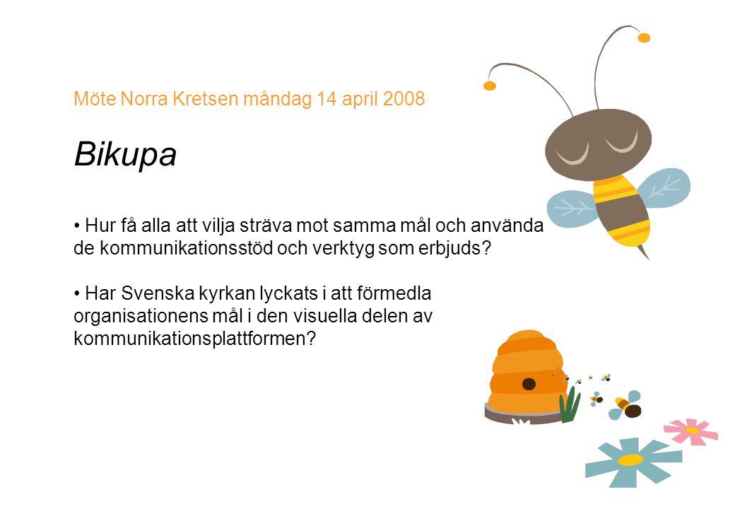 Bikupa Möte Norra Kretsen måndag 14 april 2008