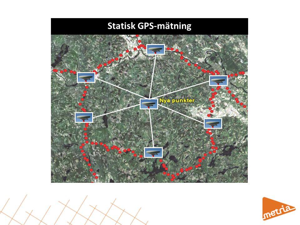 Statisk GPS-mätning