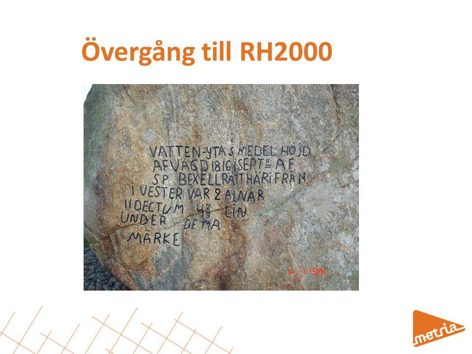Övergång till RH2000