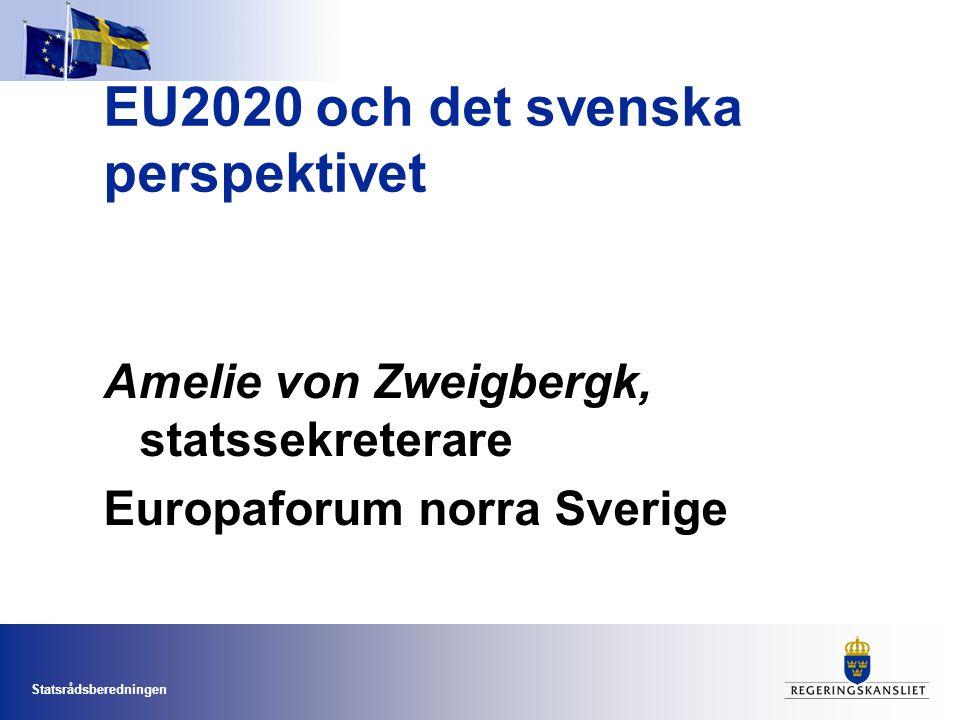 EU2020 och det svenska perspektivet