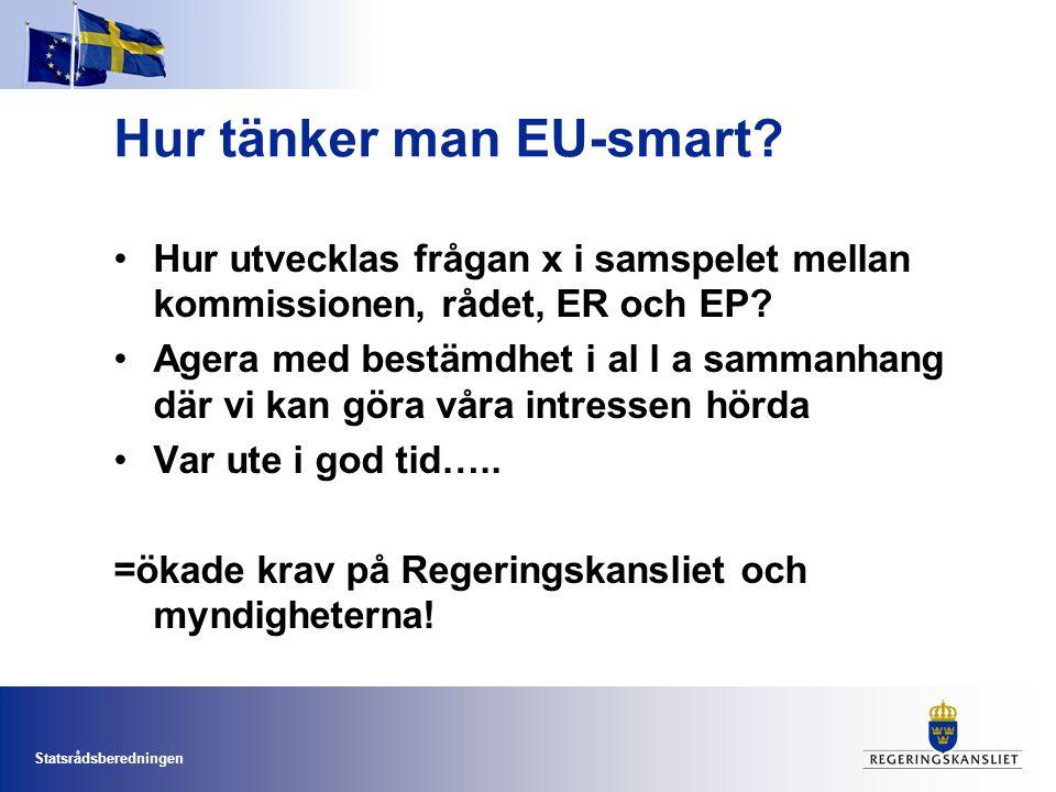 Hur tänker man EU-smart