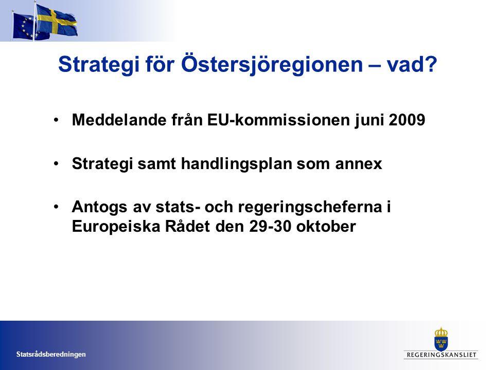 Strategi för Östersjöregionen – vad