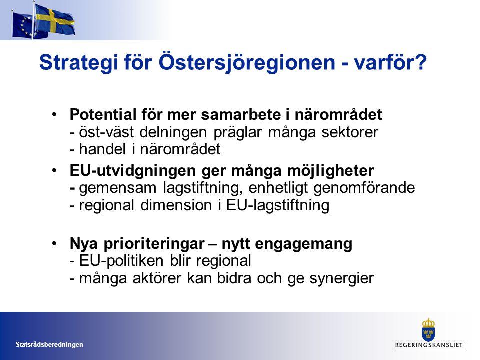 Strategi för Östersjöregionen - varför
