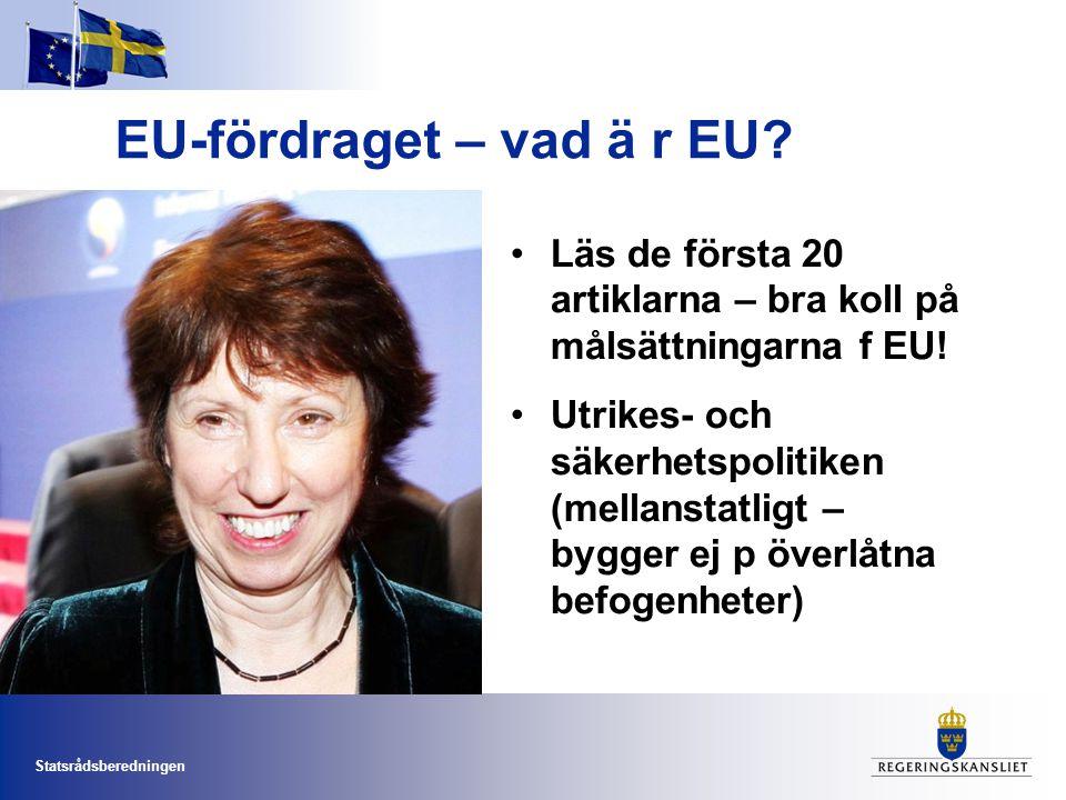 EU-fördraget – vad ä r EU