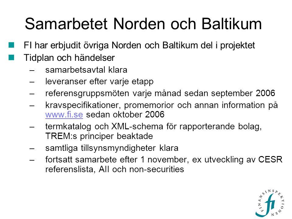 Samarbetet Norden och Baltikum