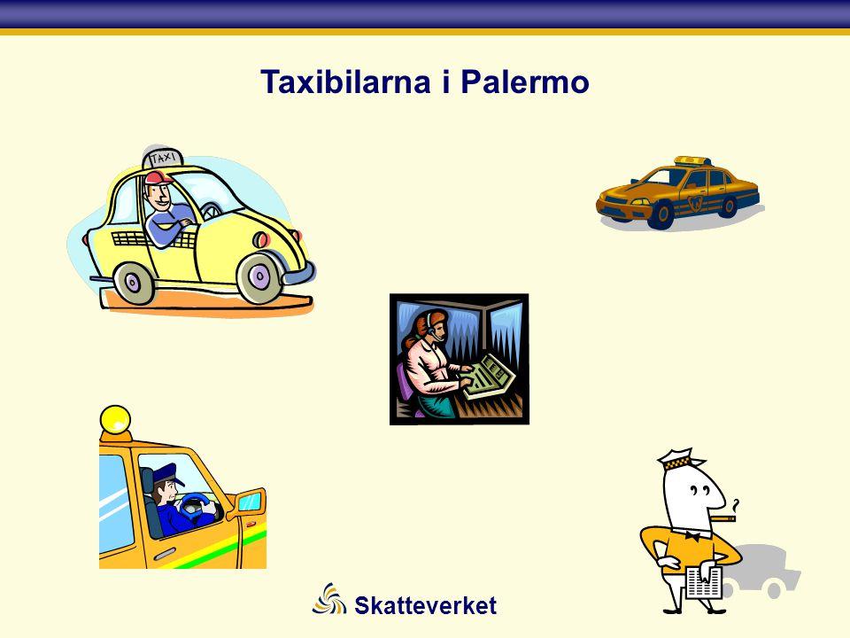 Taxibilarna i Palermo