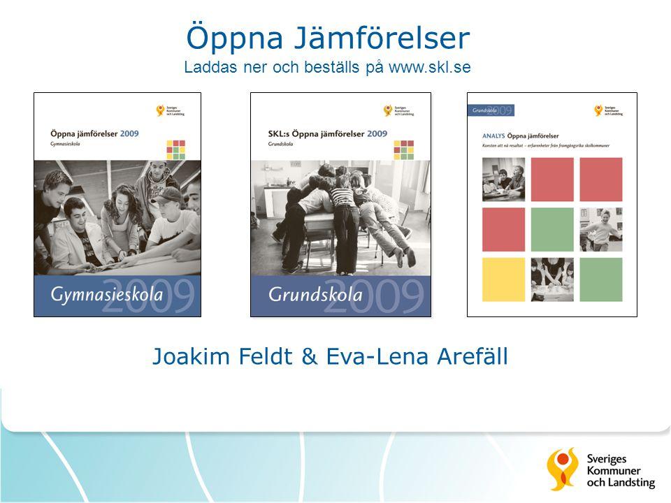 Joakim Feldt & Eva-Lena Arefäll