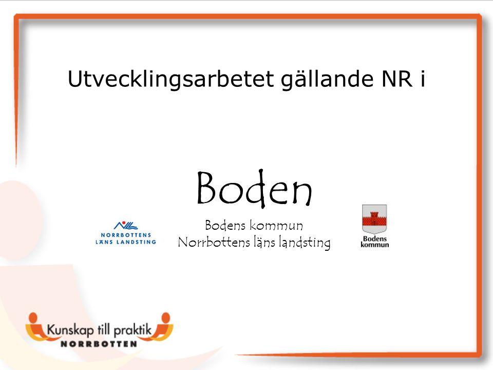 Boden Bodens kommun Norrbottens läns landsting