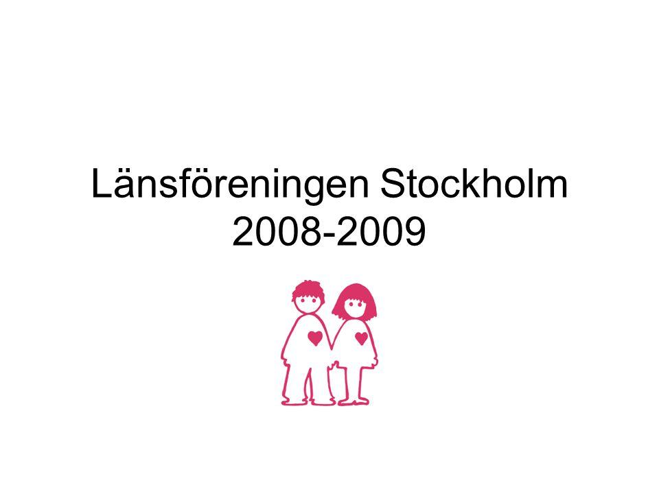 Länsföreningen Stockholm 2008-2009