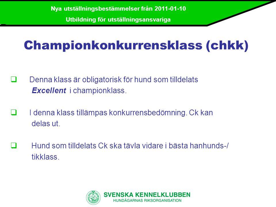 Championkonkurrensklass (chkk)
