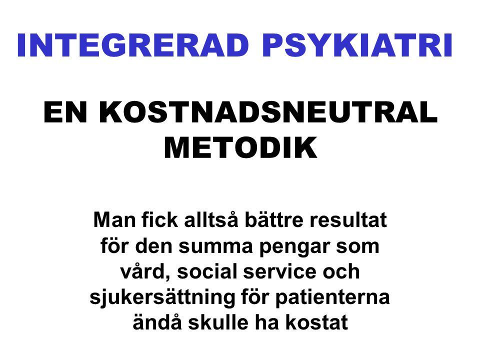 EN KOSTNADSNEUTRAL METODIK