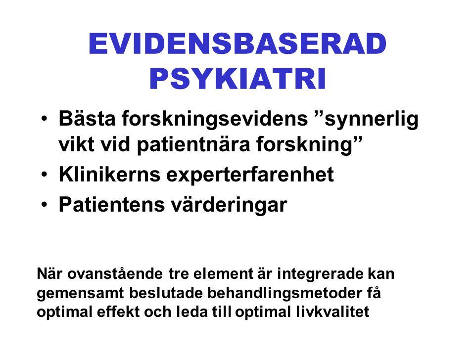 EVIDENSBASERAD PSYKIATRI