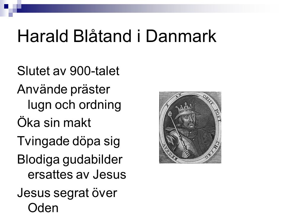 Harald Blåtand i Danmark