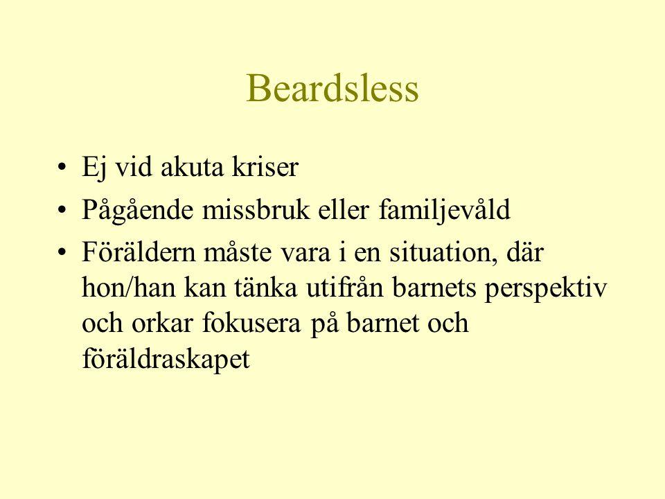 Beardsless Ej vid akuta kriser Pågående missbruk eller familjevåld