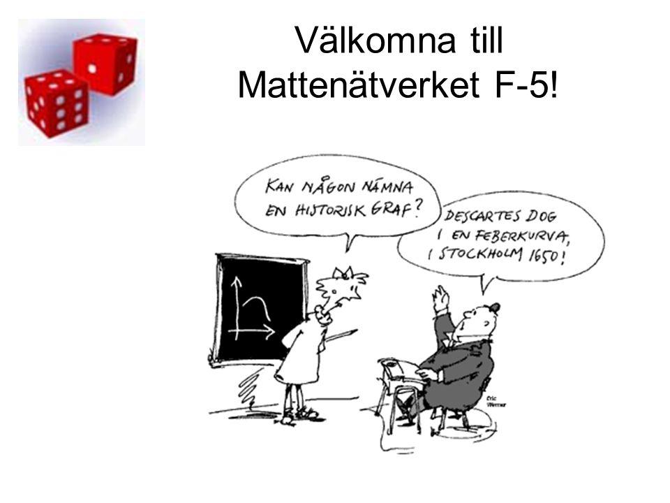 Välkomna till Mattenätverket F-5!