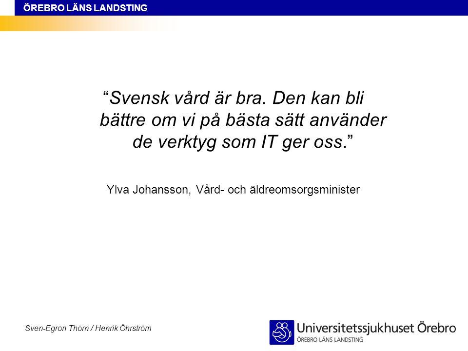 Ylva Johansson, Vård- och äldreomsorgsminister