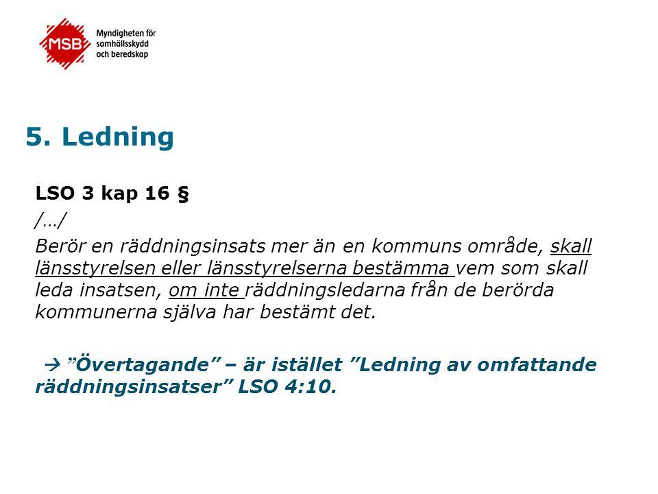 5. Ledning