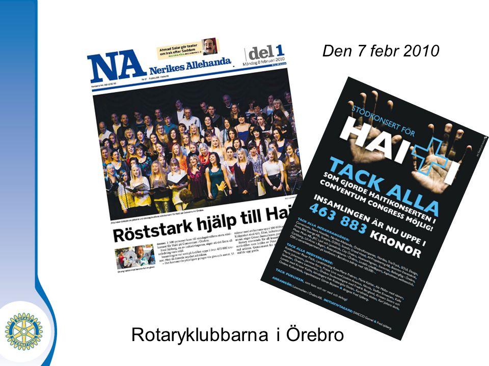 Rotaryklubbarna i Örebro