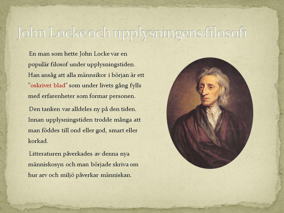 John Locke och upplysningens filosofi