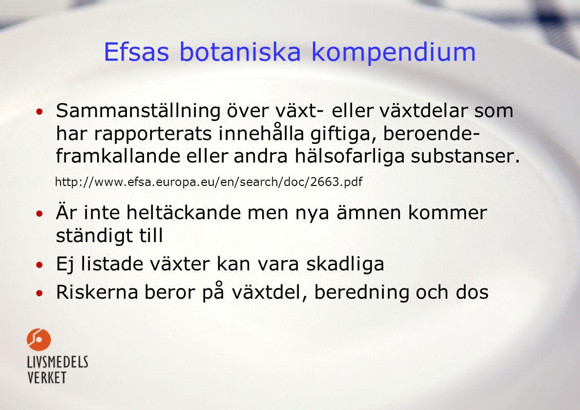 Efsas botaniska kompendium